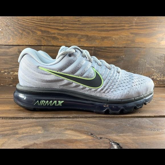 billig Nike Air Max 2017 Wolf Grey Platinum 849559 009 NWT
